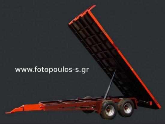 Καρότσα μεταφοράς ανατρεπόμενη 10 τόνων
