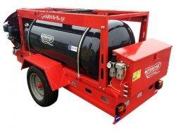 Κλαδευτικό συρόμενο με βενζινοκινητήρα. Αεροσυμπιεστής 1000L