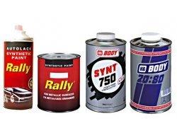 RALLY Συνθετικό χρώμα αυτοκινήτων, μηχανημάτων.