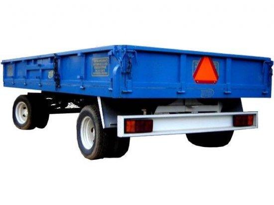Ρυμούλκα JUMBO μεταφοράς αγροτικών προϊόντων 10t