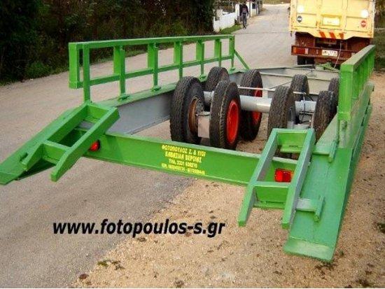 Ρυμούλκα μεταφοράς βαρέων μηχανημάτων 30t