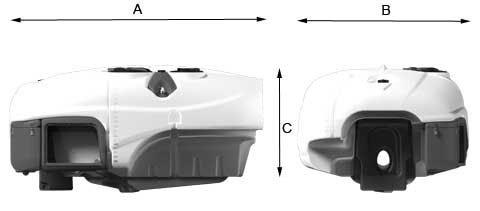 Βυτίο πολυαιθυλένιο για συρόμενο ψεκαστικό OLIVO 2000L